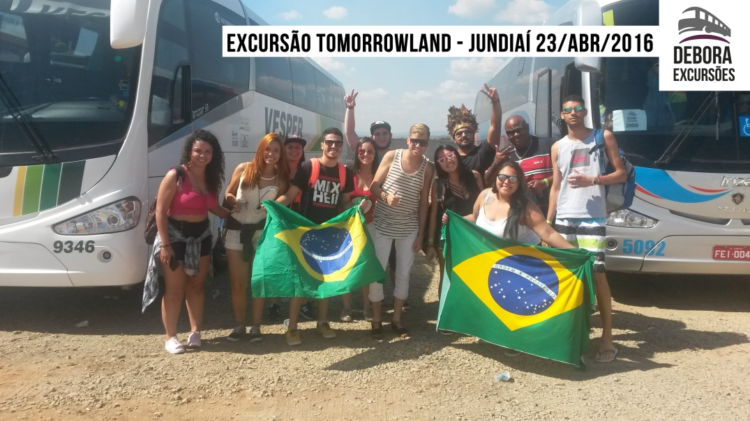 Excursão Jundiaí Tomorrowland 23 abril 2016