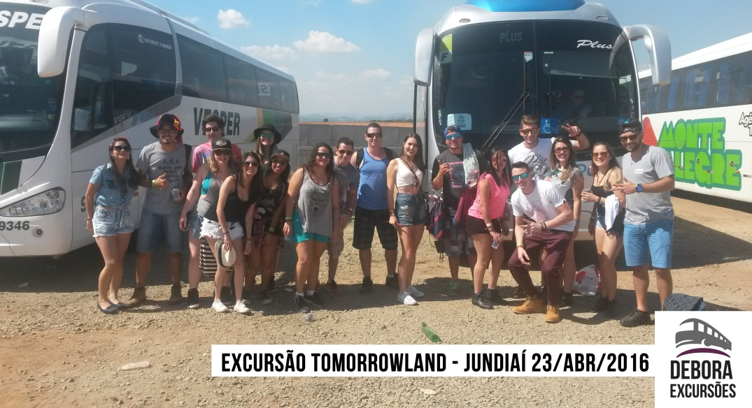 Excursão Tomorrowland Jundiaí 23 abril