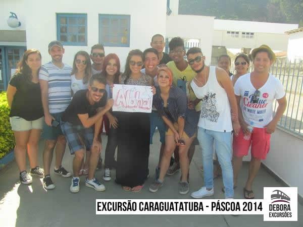 Excursão Caraguatatuba - Pascoa 2014
