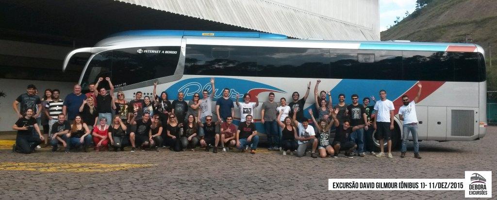 Excursão David Gilmour - 11 dezembro 2015 Bus 1