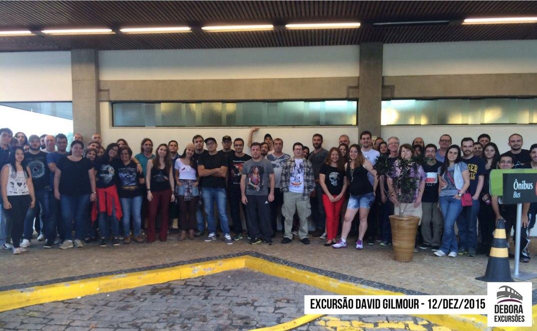 Excursão David Gilmour - 12 dezembro 2015