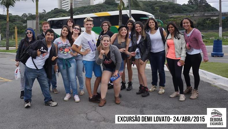Excursão Demi Lovato - 24 04 2014