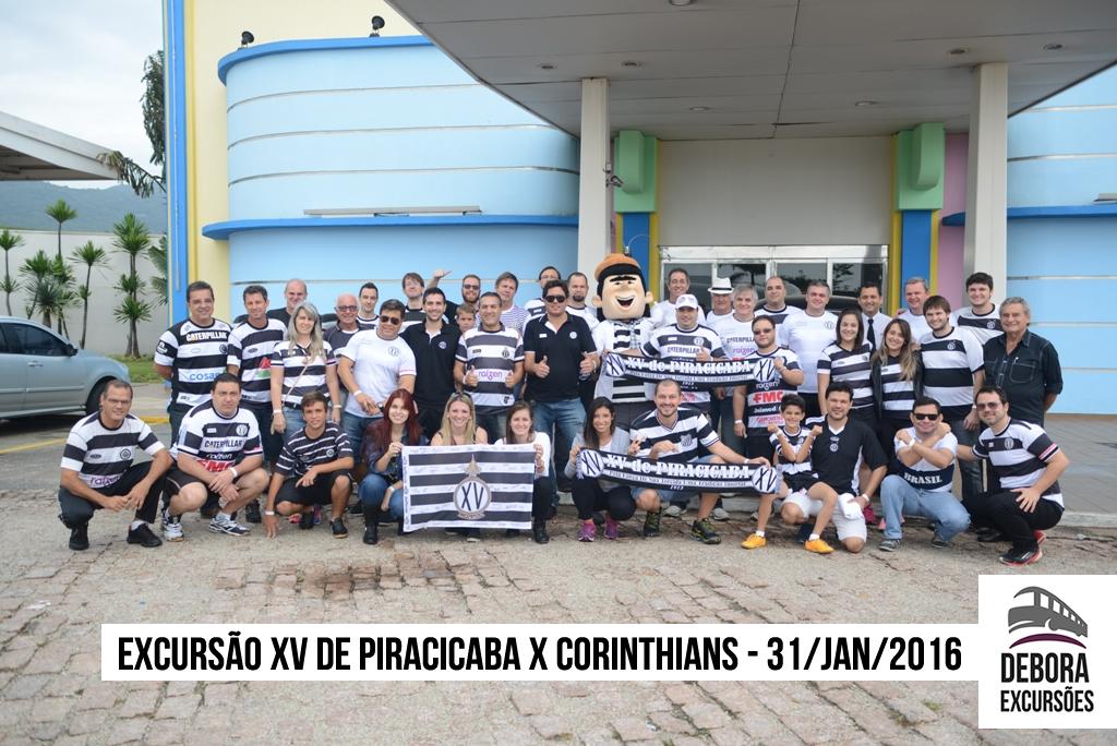 Excursão XV de Piracicaba x Corinthians - 31/01/2016