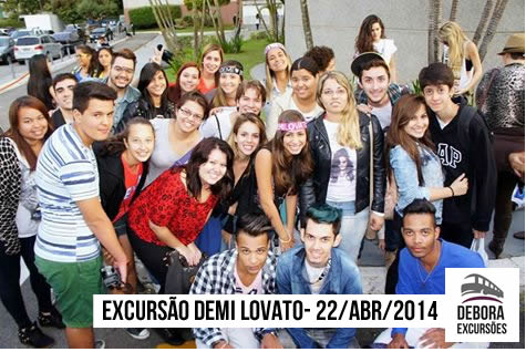 Excursão Demi Lovato - 22 04 2014