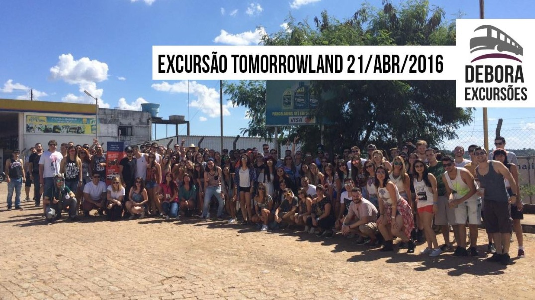 Excursão Tomorrowlando 21 abril