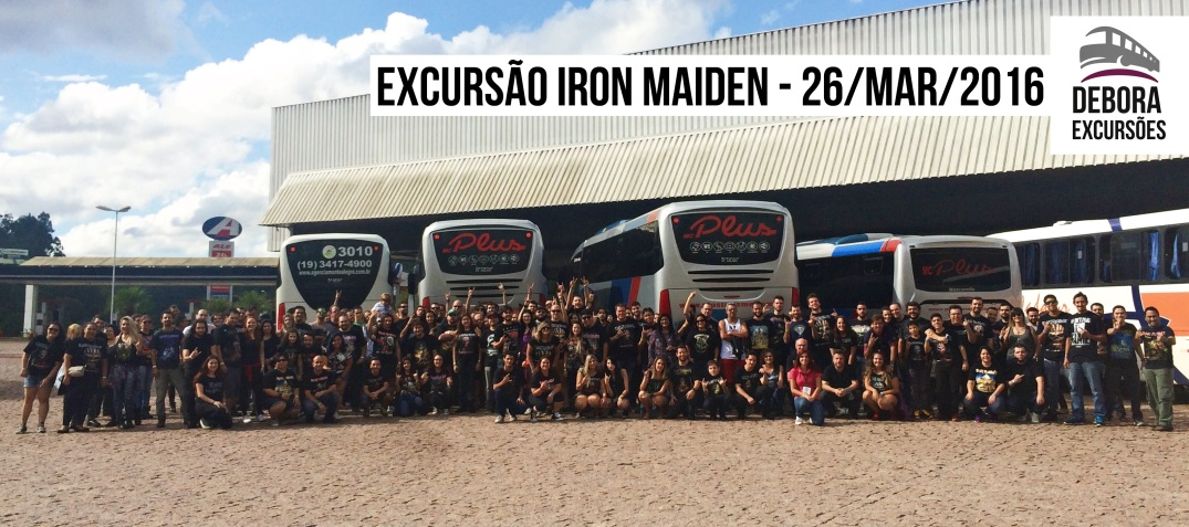 Excursão Iron Maiden