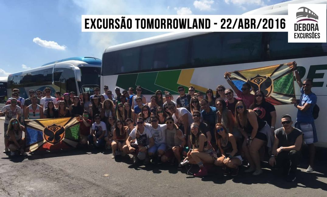 Excursão Tomorrowland 22abril