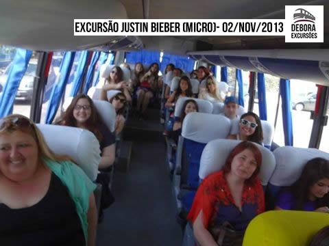 Excursão Justin Bieber Micro - 02-11-2013