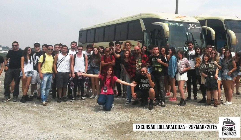 Excursão Lollapalooza 29 marco 2015