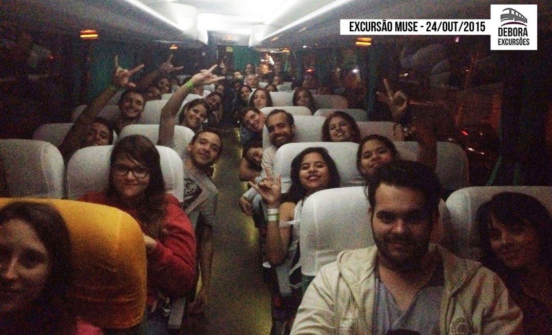 Excursão Muse - 24 outubro 2015