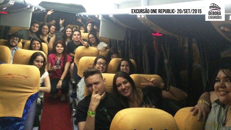 Excursão One Republic - 20 setembro 2015