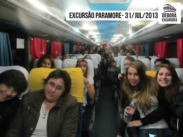 Excursão Paramore 31 07 2013