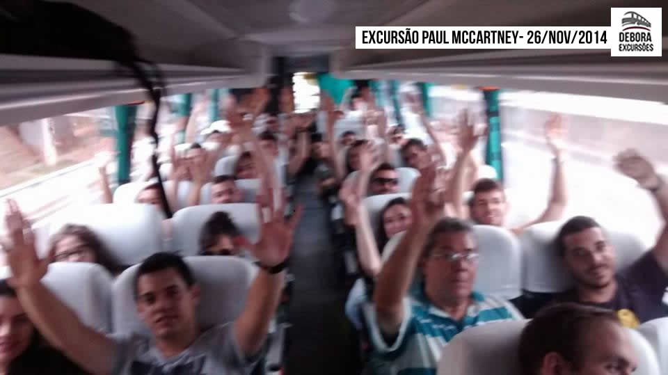 Excursão Paul McCartney - 26-11-2014