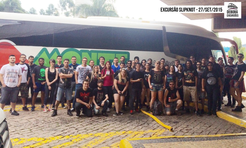 Excursão Slipknot - 27 setembro 2015