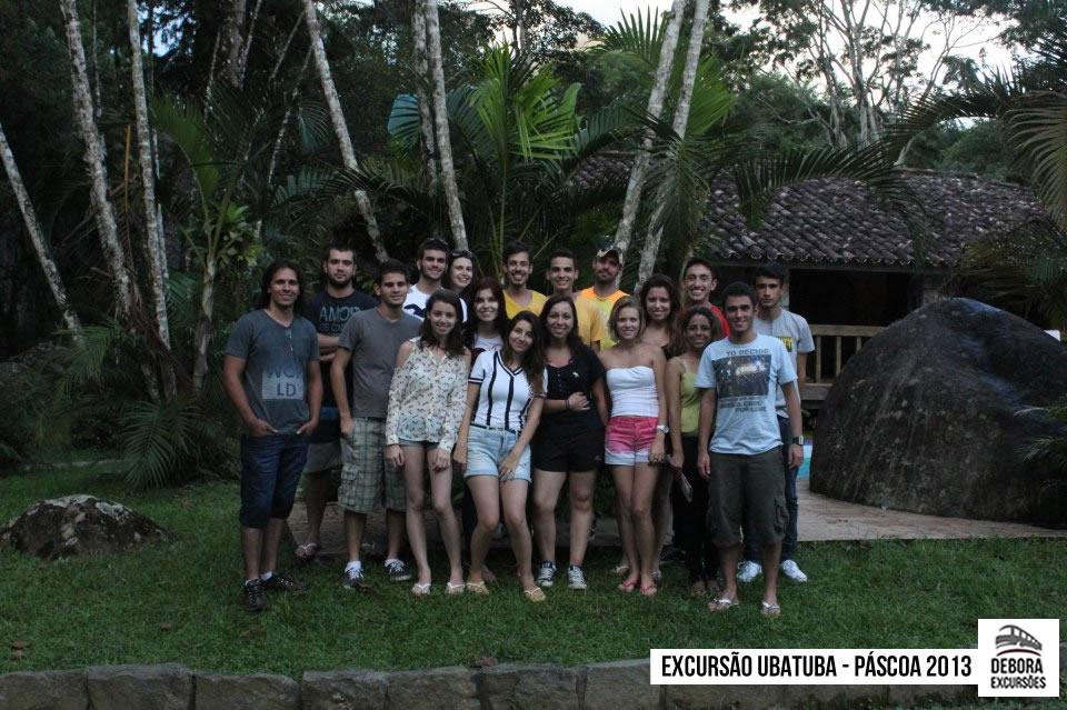 Excursão Ubatuba Páscoa 2013
