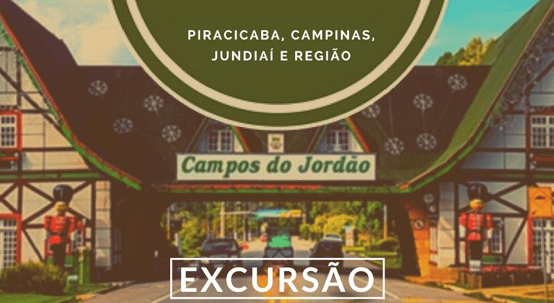Excursão Campos Jordão Interior SP